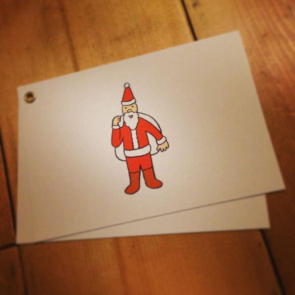 makomo メッセージカード サンタ 1_01